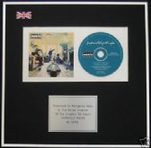 OASIS - CD Album Award - DEFINITELY MAYBE